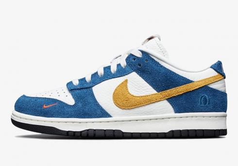 Kasina x Nike SB Dunk Low 80s Bus University Gold Industrial Blue CZ6501-100