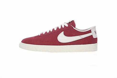 Nike SB Blazer Low White Red Mens Casual Shoes 371760-602