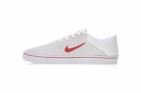 Nike SB Portmore Summit White Max Orange White Unisex Shoes 725027-181