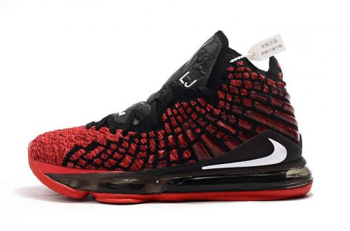 2020 Nike Zoom Lebron XVII 17 Red Black King James Basketball Shoes Release Date BQ3177-061