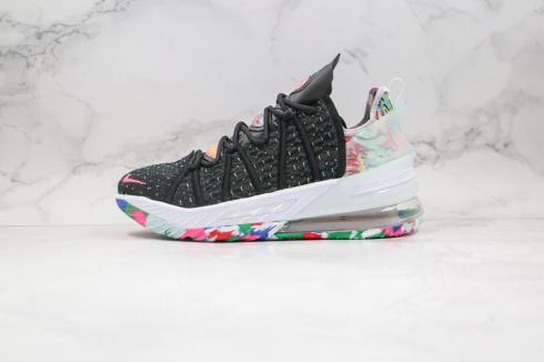 Nike LeBron 18 Low EP Multicolor Black Multi Color White CQ9284-002
