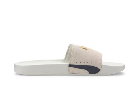 Puma Leadcat FTR Suede Classic Slide Marshmallow White Casual Shoes 372277-03