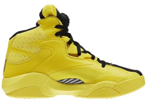 Reebok Shaq Attaq Modern Yellow Spark Black BD4602