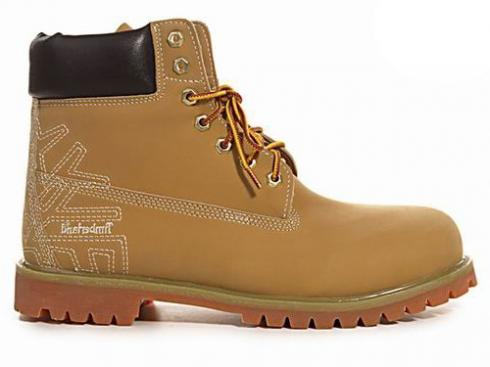 Mens Timberland 6-inch Premium Scuff Proof Boots Wheat Brown