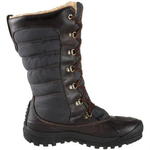 Timberland Earthkeepers Mount Holly Tall Wp Faux Fur Boots Brown Womens