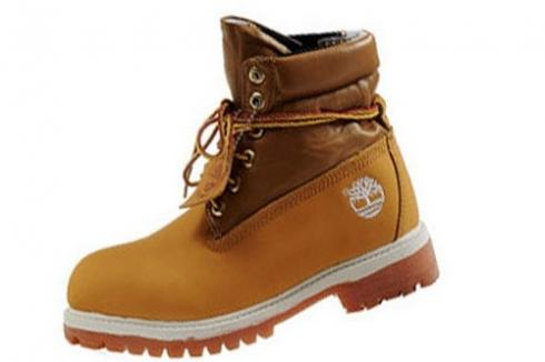 Timberland For Men Wheat Roll-top Boots