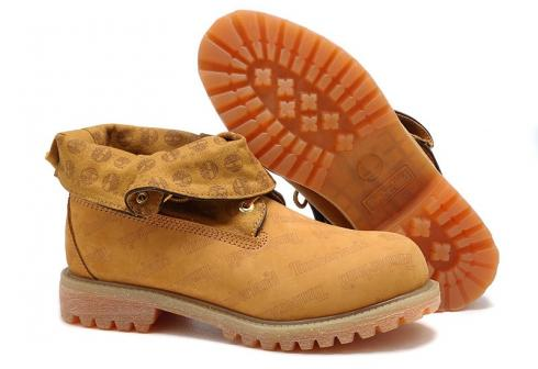 Timberland Roll-top Boots For Men Wheat Yellow