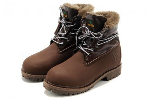 Timberland Roll-top Boots For Women Brown