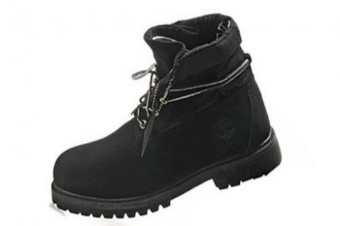 Timberland Roll-top Boots Mens Black