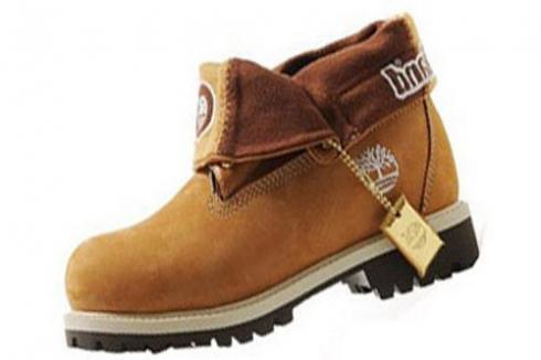 Wheat Gold Timberland Roll-top Boots Mens