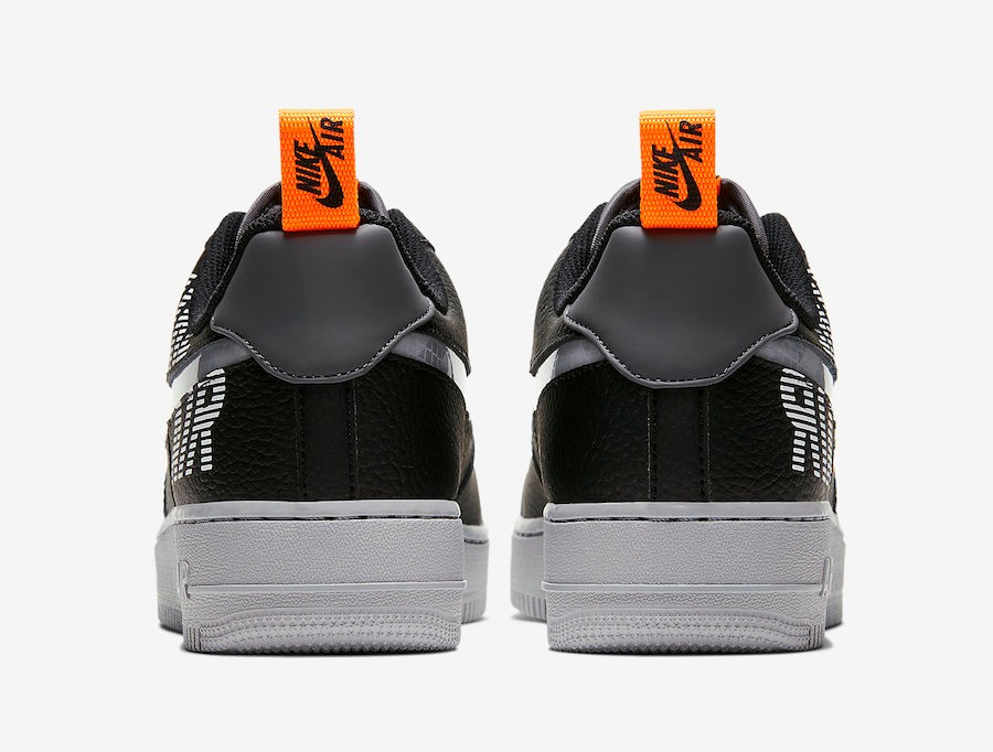 Nike Air Force 1 Low Under Construction Black BQ4421 002